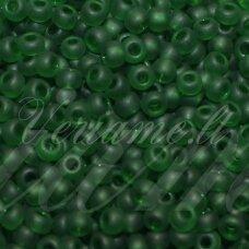 PCCB331/39001/50120-06/0 3.7 - 4.3 mm, apvali forma, matinis, žalia spalva, apie 50 g.
