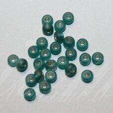 pccb331/39001/57719-08/0 2.8 - 3.2 mm, apvali forma, matinė, žalia spalva, apie 50 g.