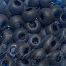 pccb331/39001/60100-09/0 2.4 - 2.8 mm, apvali forma, matinė, mėlyna spalva, apie 50 g.