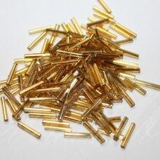"""pccb351/12001/17020-5"""" 11 x 2 mm, pailga forma, geltona spalva, viduriukas su folija, apie 50 g."""