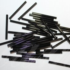 pccb321-11001-50/3mm-23980 50 mm, pailga forma, juoda spalva, apie 50 g.