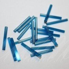 pccb351/12001/65021-20 apie 20 x 2 mm, pailga forma, mėlyna spalva, apie 50 g.