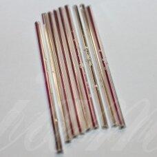 PCCB351/22001/78102-60 mm 60 x 2.5 mm, pailga forma, skaidrus, viduriukas su folija, apie 50 g.