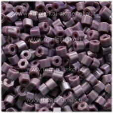 pccb351/31001/23040-10/0 2.2 x 2 mm, pailga forma, violetinė spalva, apie 50 g.
