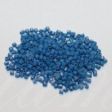 pccb31001/33220-10/0 2.2 x 2 mm, pailga forma, mėlyna spalva, apie 50 g.