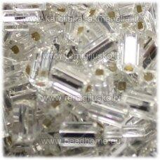 pccb351/31001/78102-08/0 2.5 x 2.5 mm, pailga forma, skaidrus, viduriukas su folija, apie 50 g.