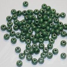 pccb53233-06/0 3.7 - 4.3 mm, apvali forma, melsvai žalia spalva, apie 50 g.