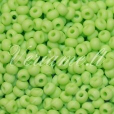 pccb53410-13/0 1.6 - 1.8 mm, apvali forma, salotinė spalva, apie 50 g.