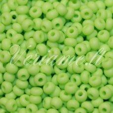 pccb53410-31/0 7 mm, apvali forma, salotinė spalva, apie 50 g.