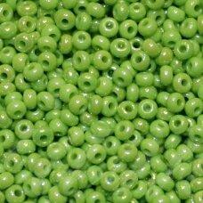 pccb54210-10/0 2.2 - 2.4 mm, apvali forma, salotinė spalva, ab danga, apie 50 g.