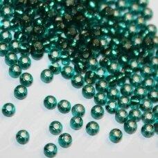 pccb57710-08/0 2.8 - 3.2 mm, apvali forma, elektrinė spalva, viduriukas su folija, apie 50 g.