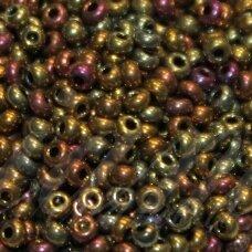 PCCB59148-10/0 2.2 - 2.4 mm, apvali forma, vario spalva, marga, apie 50 g.