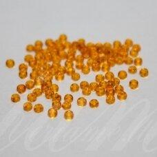 pccb80060-02/0 5.8 - 6.3 mm, apvali forma, skaidrus, gintaro spalva, apie 50 g.