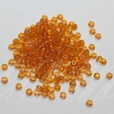pccb81060-08/0 2.8 - 3.2 mm, apvali forma, skaidrus, blizgi danga, geltona spalva, apie 50 g.