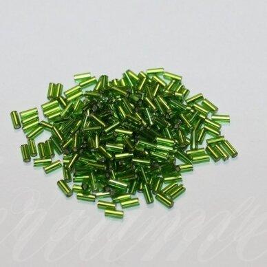 """pccb12001/57430-2"""" 4.5 x 2 mm, pailga forma, viduriukas su folija, žalia spalva, apie 50 g."""