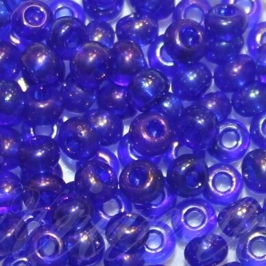 PCCB31110-06/0 3.7 - 4.3 mm, apvali forma, mėlyna spalva, AB danga, apie 50 g.