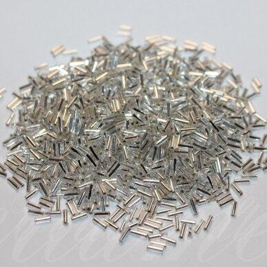 pccb321/21001/78102-04/1.3 4 x 1.3 mm, skaidrus, viduriukas su folija, apie 50 g.