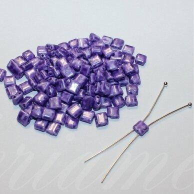 pccb321/94001/26228-5/5 apie 5 x 5 mm, marga, violetinė spalva, apie 15 g.