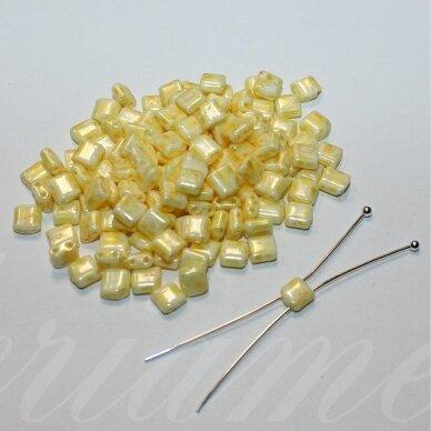 pccb321/94001/26286-5/5 apie 5 x 5 mm, marga, geltona spalva, apie 15 g.