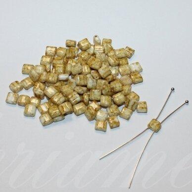 pccb321/94001/66209-5/5 apie 5 x 5 mm, marga, gelsva spalva, apieapie 15 g. / x 3 pakeliai = apie 45 g.