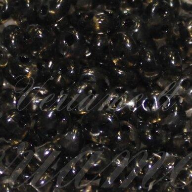 PCCB321/96001/01141-2.5 x 3 x 5 mm, twin forma, skaidrus, juoda spalva, apie 20 g.