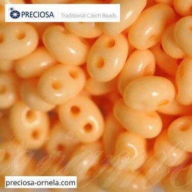 PCCB321/96001/03182-2.5 x 3 x 5 mm, twin forma, blizgūs, šviesi, šviesi, kreminė spalva, apie 20 g.