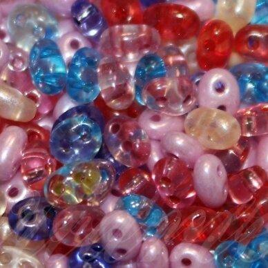 pccb321/96001/mix24-2.5 x 3 x 5 mm, twin forma, mix, apie 20 g.
