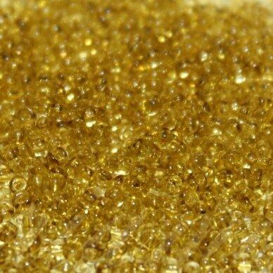 pccb29001/01151-10/0 2.2 - 2.4 mm, apvali forma, tamsi, geltona spalva, kvadratinė skylė, apie 50 g.