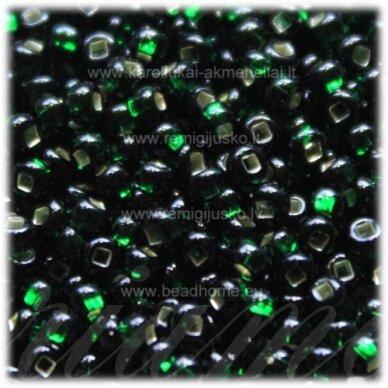 pccb331/29001/57150-08/0 2.8 - 3.2 mm, žalia spalva, kvadratinė skylė, viduriukas su folija, apie 50 g.