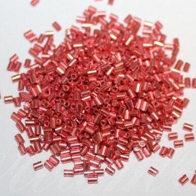 """PCCB351/12001/18598-1"""" 2.2 x 1.4 mm, pailga forma, blizgūs, rožinė spalva, apie 50 g."""