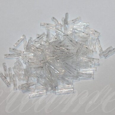 "pccb38001/00050-4"" 9 x 2 mm, pailga forma, skaidrus, apie 50 g."