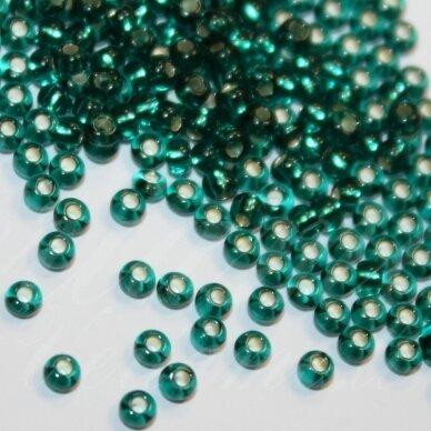 PCCB57710-06/0 3.7 - 4.3 mm, apvali forma, elektrinė spalva, viduriukas su folija, apie 50 g.