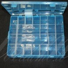 PD0008 apie 345 x 215 x 46 mm, plastikinė dėžutė, reguliuojami skyreliai, 1 vnt.