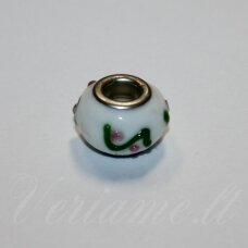 pka0484 about 10 x 13 mm, colourful, pandora bead, 1 pc.
