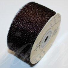 ppv0009 apie 3 mm, tamsi, ruda spalva, pinta virvutė, apie 25 m.