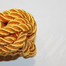 ppv0013 apie 4 mm, geltona spalva, sukta virvutė, 2.5 m.