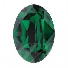 Preciosa 435 12 601 Oval MAXIMA 14x10mm Emerald