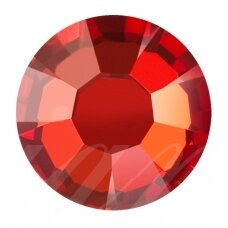 Preciosa 438 11 618 Chaton Rose MAXIMA Hotfix SS30 (6.4mm) Crystal Red Flame (18 vnt)