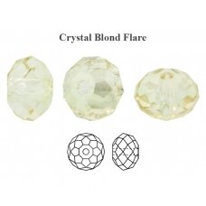 Preciosa Bead Bellatrix 6mm Crystal Blond Flare (6 vnt)