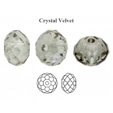 Preciosa Bead Bellatrix 6mm Crystal Velvet (6 vnt)