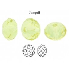 Preciosa Bead Bellatrix 6mm Jonquil (6 vnt)