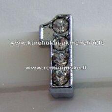 r0051 apie 12 x 5 x 5 mm, skaičius 1, akutės skaidrus, 1 vnt.