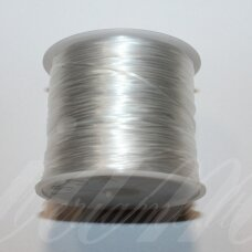 sil0023-0.5 about 0.5 mm storio, white color, multilayer silicone thread, about 10 m.