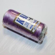 sl0208, šviesi, violetinė spalva, poliesterio siūlas, 25 g.