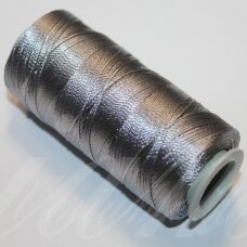 sl0317, sidabrinė spalva, poliesterio siūlas, 25 g.