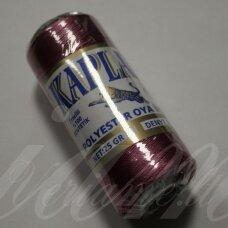 sl0318, tamsi, rožinė spalva, poliesterio siūlas, 25 g.