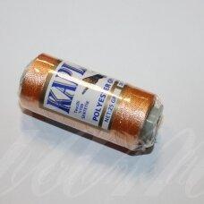 sl0322, persikinė spalva, poliesterio siūlas, 25 g.