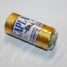 sl0347, geltona spalva, poliesterio siūlas, 25 g.