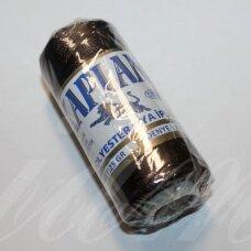 sl0401, tamsi, ruda spalva, poliesterio siūlas, 25 g.
