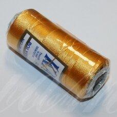 sl0444, geltona spalva, poliesterio siūlas, 25 g.